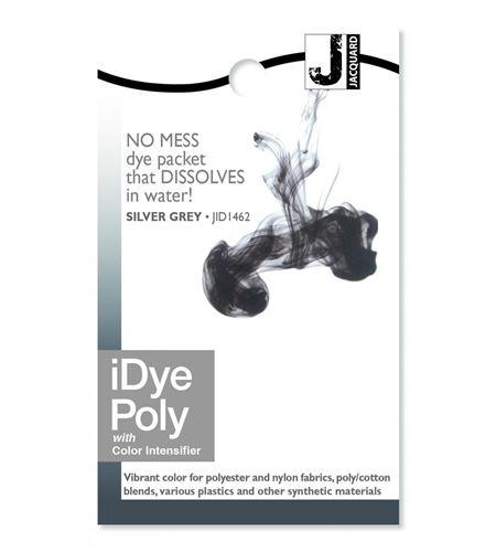 Tinte idye poly para fibras sintéticas - silver grey (gris plata) - JID1462_IDYEPOLY_SILVER GREY