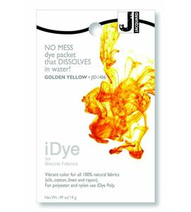 Tinte idye para fibras naturales - golden yellow (amarillo oro) - JID1406 GOLDEN YELLLOW