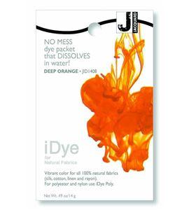 Tinte idye para fibras naturales - deep orange (naranja oscuro) - JID1408 DEEP ORANGE