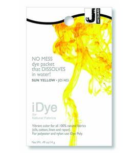 Tinte idye para fibras naturales - sun yellow (amarillo) - JID1403 SUN YELLLOW
