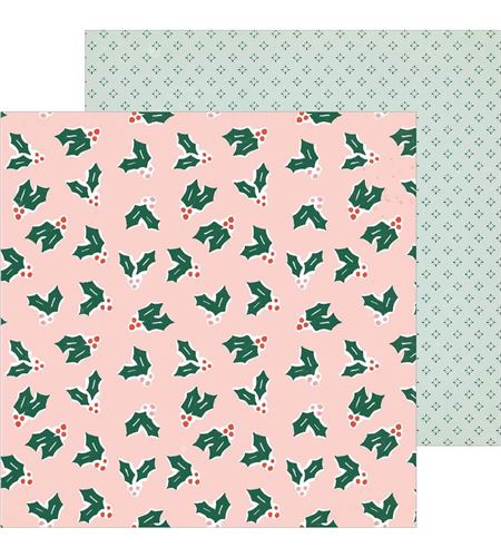 Hoja de papel de scrapbook - merrily - 344497