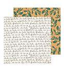 Hoja de papel de scrapbook - mistletoe