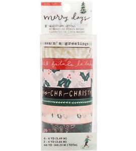 Set de washi tapes merry christmas - 344516