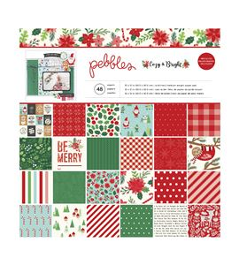 Pack de papel de scrapbook cozy&bright - 733940