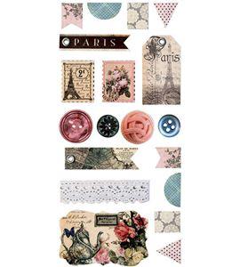 Stickers de cartón - paris - 11004366