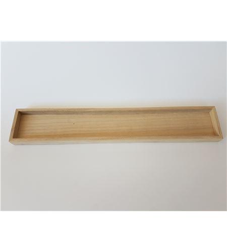 Bandeja madera 36 x 6,5 - 14001016
