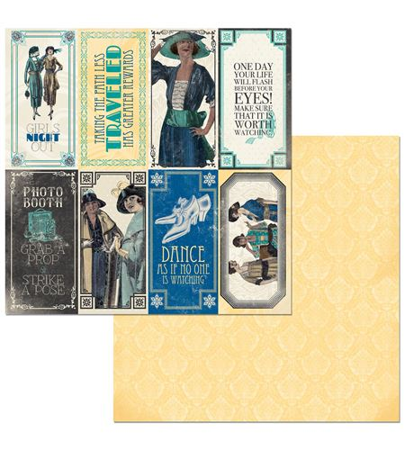 Hoja de papel de scrapbook - something splendid - 7310369