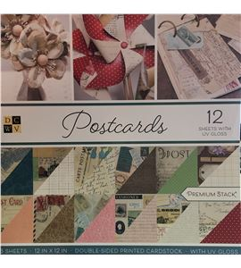 Bloc de papel de scrapbook - postcards - PS00200024