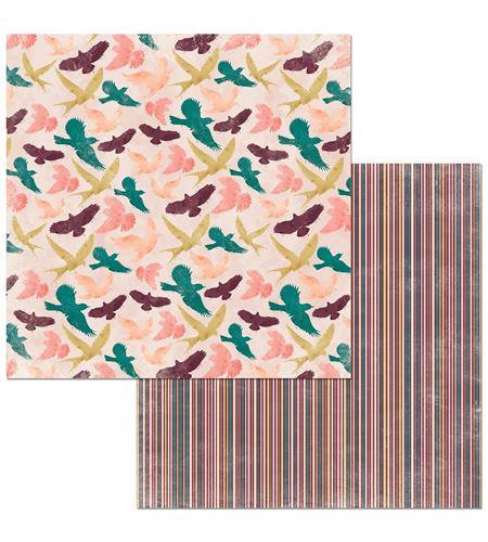 Hoja de papel de scrapbook - dreamer - 7310353