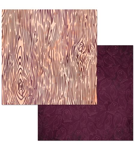 Hoja de papel de scrapbook - owls - 7310359