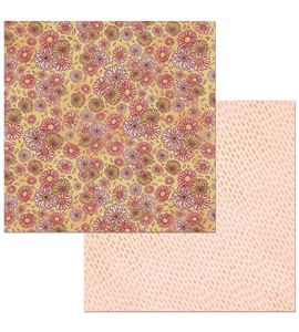 Hoja de papel de scrapbook - vibrant - 7310361