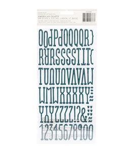 Set de adhesivos números & letras - 7310367