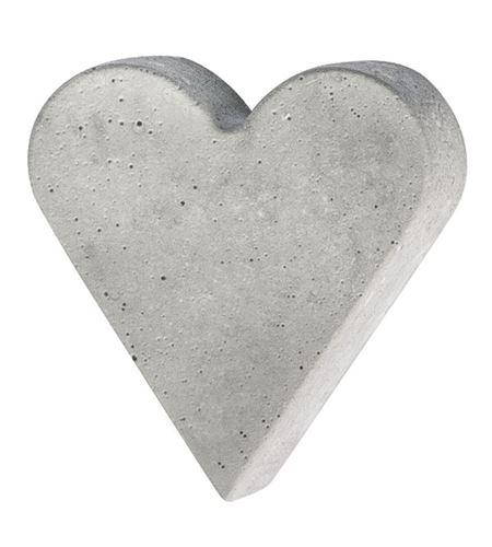 Molde para moldear cemento, jabón, cera - corazón 8,5cm - 36076000_2