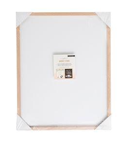 Tablero magnético doble cara con marco de madera - 40 x 50 cm. - 379001