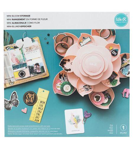 Mini almacenaje como flor (rosa) - 660700