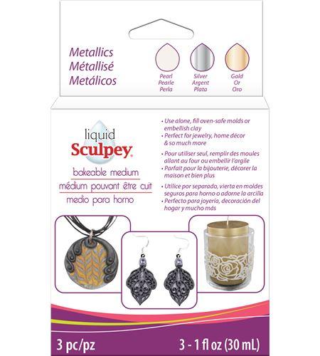 Líquido sculpey - metallic - ALSMET1