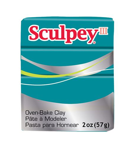 Sculpey iii - teal 57 gr. - 31139