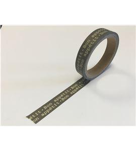 Masking tape verde - bon appétit - 11006606