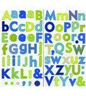 Alfabeto adhesivo - nature