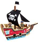 Juego de construcción barco pirata