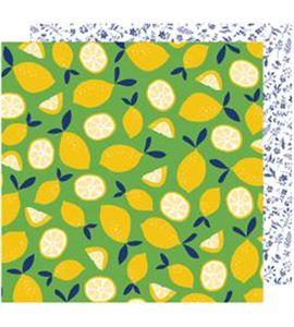 Hoja de papel de scrapbook - fresh picked - 343420