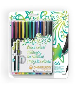Fineliner 12-pen bright colors set - FL1201NAFRONT