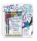 Fineliner 24-pen bold colors set