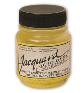 Acid dye 14gr. #sun yellow - JAC1601_ACID DYE-YELLOW SUN-HALF-OZ_CMYK