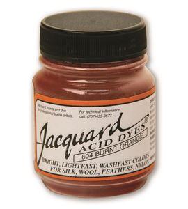 Acid dye 14gr. #burnt orange - JAC1604_ACID DYE-BURNT ORANGE-HALF-OZ_CMYK