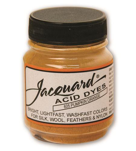 Acid dye 14gr. #pumpkin orange - JAC1605_ACID DYE-PUMPKIN ORANGE-HALF-OZ_CMYK
