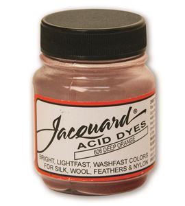 Acid dye 14gr. #deep orange - JAC1606_ACID DYE-DEEP ORANGE-HALF-OZ_CMYK