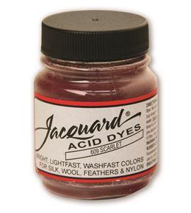 Acid dye 14gr. #scarlet - JAC1609_ACID DYE-SCARLET-HALF-OZ_CMYK