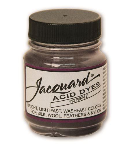 Acid dye 14gr. #purple - JAC1613_ACID DYE-PURPLE-HALF-OZ_CMYK