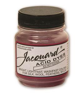 Acid dye 14gr. #hot fuchsia - JAC1620_ACID DYE-HOT FUCHSIA-HALF-OZ_CMYK