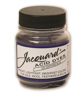 Acid dye 14gr. #sapphire blue - JAC1622_ACID DYE-SAPPHIRE BLUE-HALF-OZ_CMYK