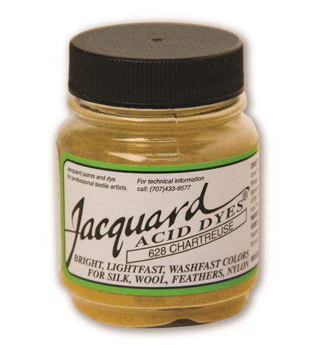 Acid dye 14gr. #chartreuse - JAC1628_ACID DYE-CHARTREUSE-HALF-OZ_CMYK