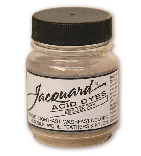 Acid dye 14gr. #silver grey - JAC1638_ACID DYE-SILVER GREY-HALF-OZ_CMYK