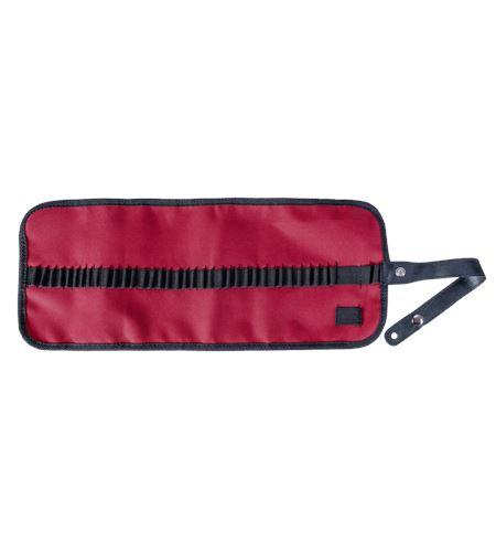 Estuche porta lápices enrollable nilón - rojo - AM-348041