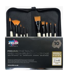 Premium brush zip case – set of 10 - 09299269