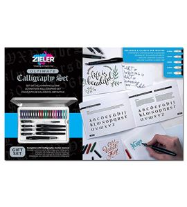 Calligraphy ultimate tin gift set - 33 pieces - 09299264