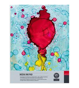 Papel tipo yupo tinta alcohol bloc 15 hojas 525gr 24x32cm - 182322