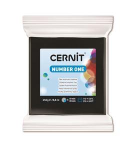 Arcilla polimérica cernit number one 250gr negro - CE0900250100