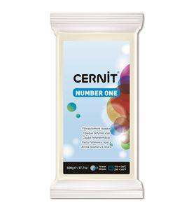 Arcilla polimérica cernit number one 500gr blanco opaco - CE0900500027
