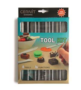 Conjunto de 8 herramientas arcilla polmérica cernit - CE906-TOOL KIT