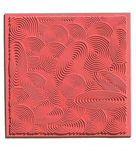Textura arcilla polimérica cernit 9x9 epirales - CE95012