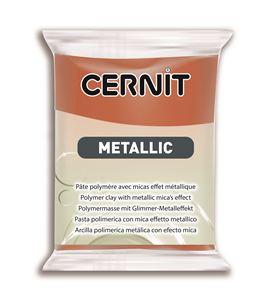 Arcilla polimérica cernit metallic 56gr. bronce - CE0870056058