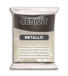 Arcilla polimérica cernit metallic 56gr hematita - CE0870056169