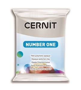Arcilla polimérica cernit number one 56gr gris - CE0900056150