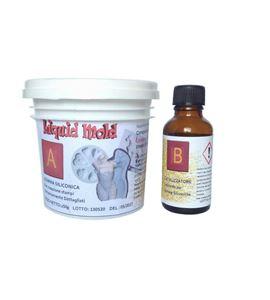 Silicona líquida para hacer moldes de goma liquid mold 250gr - 59_KZ-56XP-7BID