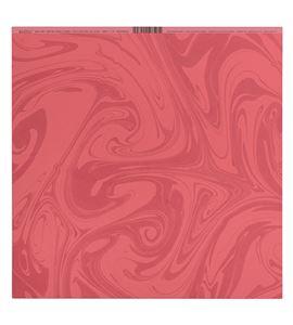 Papel de scrapbook - efecto mármol rojo - 11300479